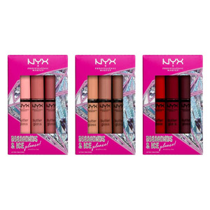 NYX Diamonds & Ice Butter Gloss Trio 3-Pack