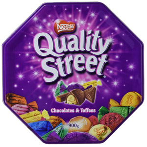 Nestle Quality Street Tin