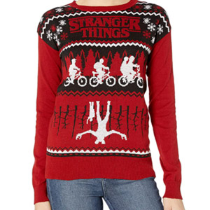 Netflix Womens Ugly Christmas Sweater