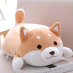 Shiba Inu Corgi Plush Pillow