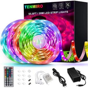Tenmiro 65.6ft Led Strip Lights