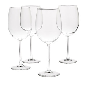 AmazonBasics All-Purpose Wine Glasses