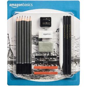 AmazonBasics Sketch and Drawing Kit