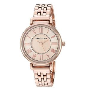 Anne Klein Rose Gold-Tone Bracelet Watch
