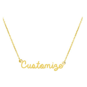 Awegift Personalized Name Necklace
