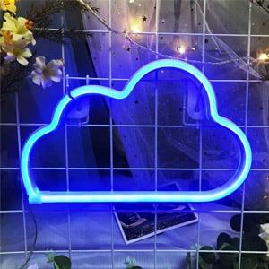 Blue Cloud Light Neon Sign