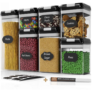 Chefs Path Airtight Food Storage Container Set