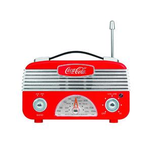 Coca-Cola Vintage Style Am/FM Radio