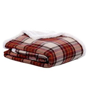 Eddie Bauer Flannel Collection Throw Blanket