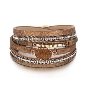 FANCY SHINY Boho Cuff Bracelet
