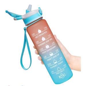 Fidus Motivational Water Bottle
