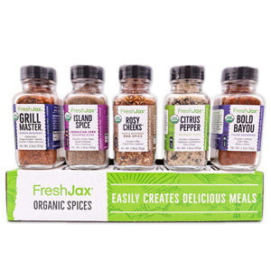 FreshJax Premium Gourmet Spices