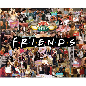 Friends TV Show Collage Jigsaw Puzzle