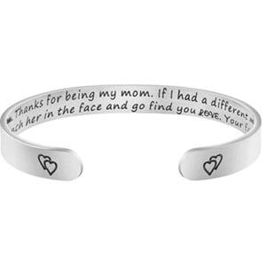 Joycuff Dear Mom Cuff Bracelet