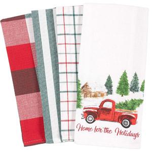 KAF Printed Dish Towel Set