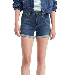 Levis Womens Mid Length Shorts