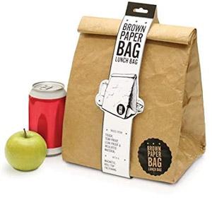 Luckies of London Reusable Brown Lunch Bag