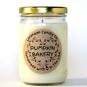 Pumpkin Bakery Soy Candle