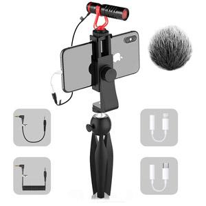 SAMTIAN Smartphone Video Microphone