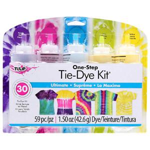 Tulip One-Step 5 Color Tie-Dye Kits
