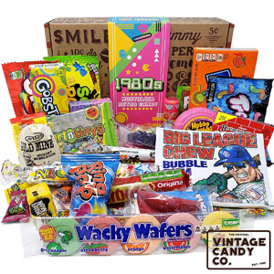 VINTAGE CANDY CO. 1980s RETRO CANDY GIFT BOX