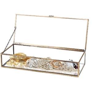 Vintage Style Jewelry Display Case