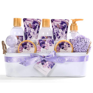 Body & Earth Bath Spa Gift Basket, 12-Pcs