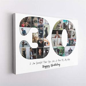CATALOGWALA 30th Birthday Gift, 20x30
