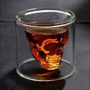 Crystal Skull Shot Glass Drink Wine Cup