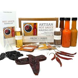 DIY Artisan Hot Sauce Making Kit
