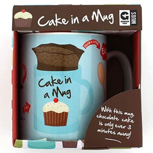 Ginger Fox Cake In A Mug