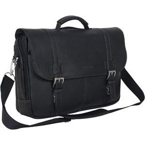"Kenneth Cole Reaction Show Full-Grain Colombian Leather 15.6"" Laptop Business Portfolio"