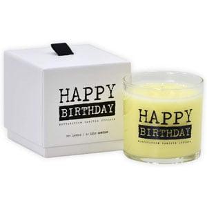 Lulu Luxury Scented Soy Jar Candles, Buttercream Vanilla Cupcake