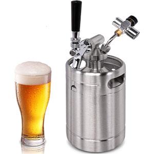 NutriChef Pressurized Beer Mini Keg System