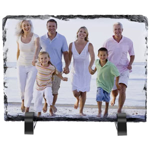 Personalized Stone Plaque Photo Slate Picture Frame