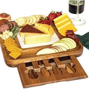 Premium Wood Cheese Board