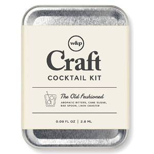 W&P Craft The Old Fashioned Carry On Cocktail Kit