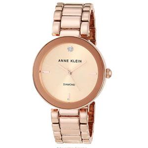 Anne Klein Womens Diamond-Accented Bracelet Watch