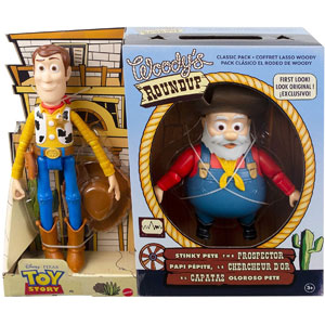 Disney Pixar Toy Story Woodys Roundup Classic Pack