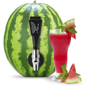 Final Touch Watermelon Keg Deluxe Tapping Kit with 2-in-1 Coring Tool with Scoop (BD205)