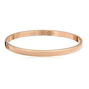 Kate Spade New York Womens Stop and Smell The Roses Idiom Bangle