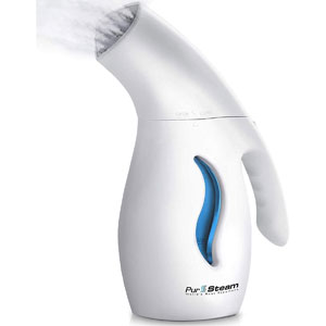 PurSteam Garment Steamer For Clothes, Powerful 7-1 Fabric Steamer For Home/Travel. Remove Wrinkles/Steam/Soften/Clean/and Defrost with UltraFast-Heat Aluminum Heating Element